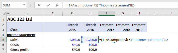 intro to financial modeling part 3
